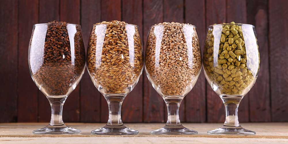 Malts, Grains & Hops