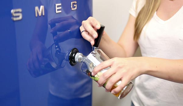 Pouring Beer Out of Your Smegerator