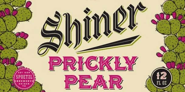 Shiner Prickly Pear Label