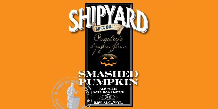 Smashed Pumpkin from Shipyard Brewing