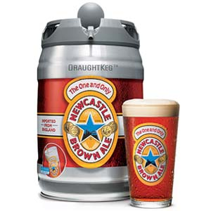Newcastle Brown Ale 5-Liter Keg