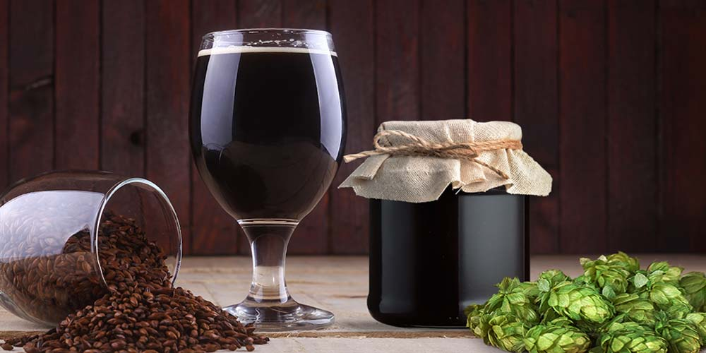 Brewing Molasses Beer